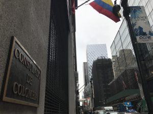 Colombians in NY vote, and now wait, on peace treaty