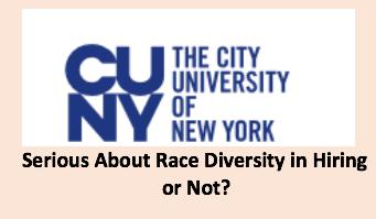 CUNY Officials Say, 'Race Matters ' Critics Respond, 'But It