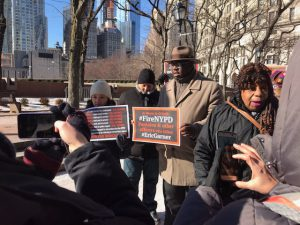 Protesters Say City Police Officer Daniel Pantaleo Must Be Punished for Alleged Murder of Eric Garner