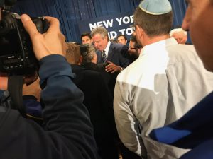 Mayor Speaks out Against Anti-Semitic Attacks