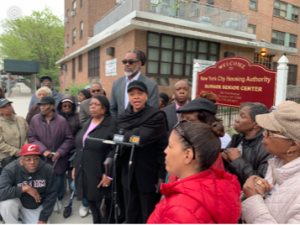 Bed-Stuy Assemblywoman and Councilman Tell de Blasio, Don't Displace Our Senior Citizens