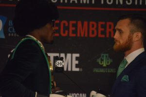 Middleweights Face Off at News Conference