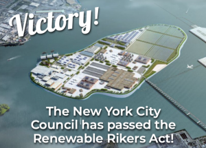 City Council Advances Plan to Make Rikers Energy Hub