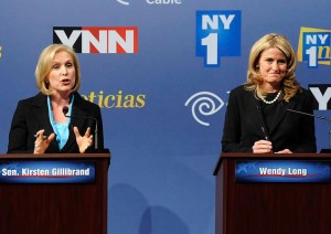 Fire and Ice: Long takes on Gillibrand for Senate
