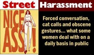 Women Protest Street Harassment