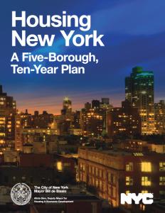 Weighing Mayor's Housing Plan 3 Years in