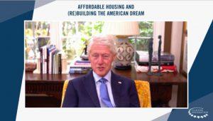 Bill Clinton Praises Biden's Housing Plans