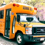 Mayor Showcases Electric School Bus