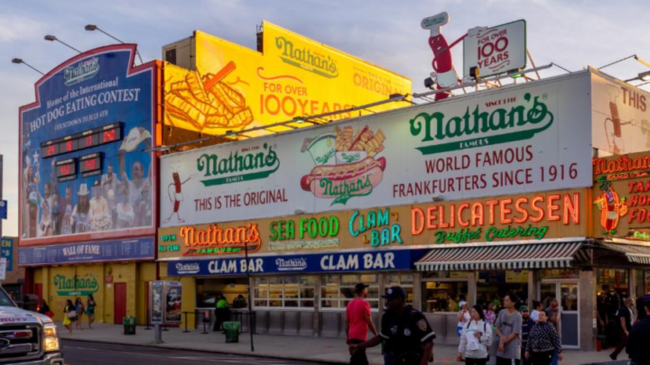 Coney Island Nathan's, Doing OK, Despite Pandemic